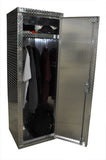 "Garage & Shop Locker - 6 Foot - Deluxe, (24""L x 72""H  x 22""D), Aluminum"