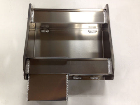 "Trailer Variety Cabinet/Workstation - Junior Modified, (16""L x 16""H  x 6""D), Aluminum"