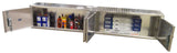 Garage & Shop Package, Deluxe Base Cabinet with Overhead Cabinet - 8 Foot, Aluminum