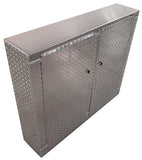 "Trailer Cabinet - Base, 4 ft. Narrow (48""L x 40""H x 10""D), Aluminum"