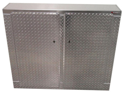 "Trailer Cabinet - Base, 4 ft. Narrow (48""W x 40""H x 10""D), Aluminum"
