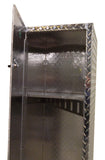 "Trailer Locker, (14""L x 48""H  x 15""D) or (14""L x 72""H  x 15""D), Aluminum"