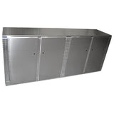 "Trailer Storage Cabinet - Base, 8 ft. (96""L x 40""H x 22""D), Aluminum"