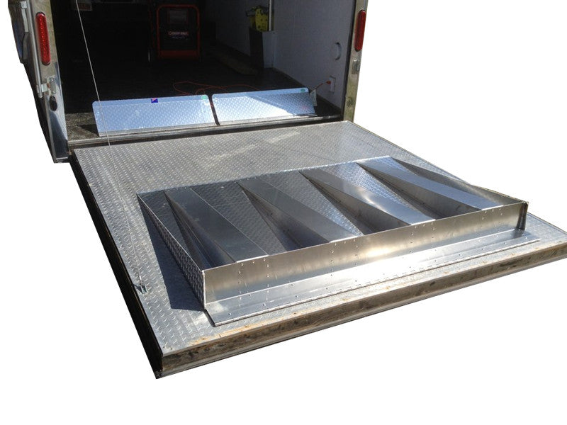 ... Extension R& - Trailer Door ...  sc 1 st  Pit Products & Extension Ramp - Trailer Door - Aluminum | Pit Products