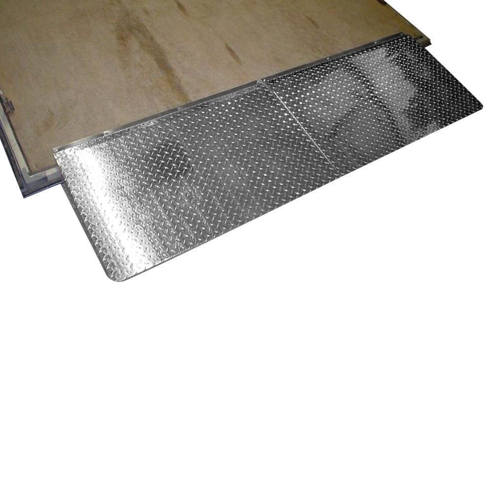 Trailer Door R&s-Diamond Plated - Aluminum ...  sc 1 st  Pit Products & Trailer Door Ramps-Diamond Plated - Aluminum | Pit Products