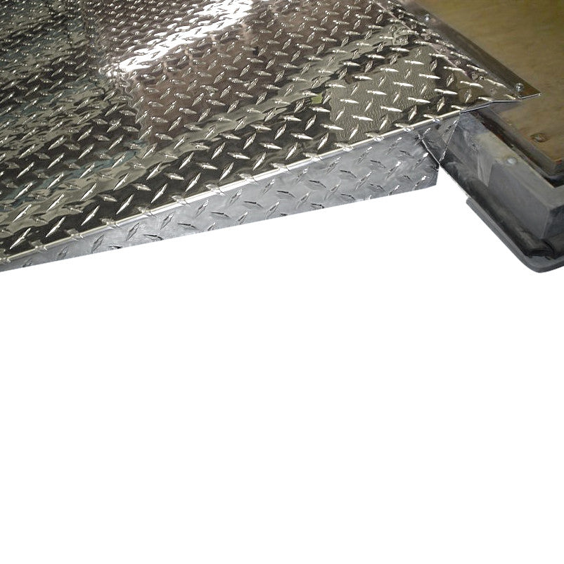 ... Trailer Door R&s-Diamond Plated - Aluminum ...  sc 1 st  Pit Products & Trailer Door Ramps-Diamond Plated - Aluminum | Pit Products