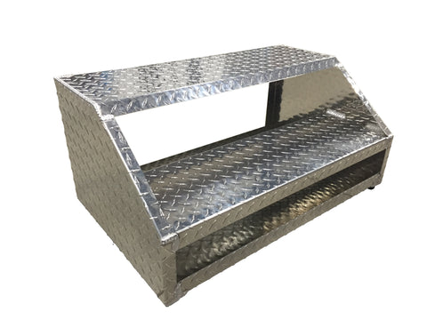 Trailer Door Steps - Aluminum