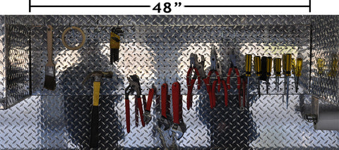 Diamond Plate Pegboard
