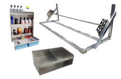 Work Station, Helmet Bay, Tire Rack Package
