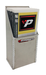 Tri-Fold Brochure Dispenser - Large- Aluminum