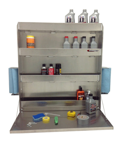 "Trailer Work Station - Super, (36""L x 40""H  x 6""D), Aluminum"