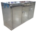 "Garage & Shop Base Cabinet - 6 foot - Deluxe, (72""L x 40""H  x 22""D), Aluminum"