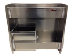 Trailer Variety Cabinet/Workstation - Junior Modified, Aluminum
