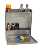 "Trailer Work Station - Medium, (18""L x 22""H  x 4""D), Aluminum"