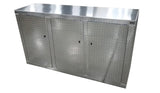 "Trailer Storage Cabinet - Base, 6 ft. (72""L x 40""H x 22""D), Aluminum"