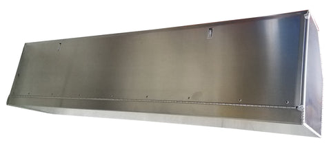 Overhead Trailer Cabinet with Radius Back - SCRATCH N' DENT - #940 S&D