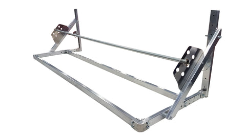 Flip-up Tire Rack for Trailer, Garage or Workshop - 4', 5' or 8'