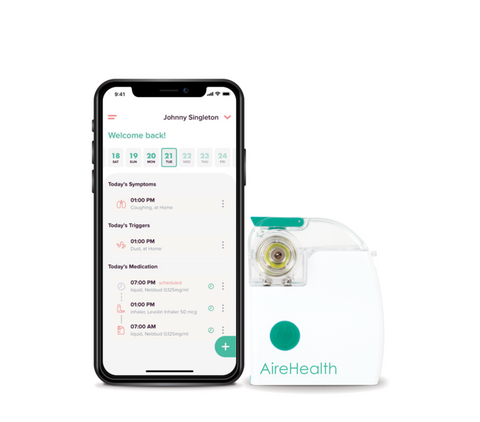AireHealth Nebulizer And Asthma App
