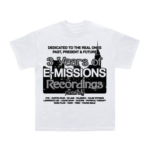 3 Years of E-Missions Tee