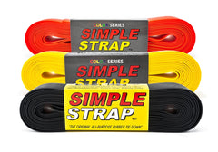 Classic 3 Pack: 2mm Regular Duty, 800 PSI (Red, Yellow, and Black)