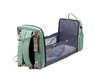 Multifunctional Changing Diaper Bag With Baby Crib