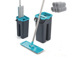3 in 1 Self Cleaning Microfiber Flat Mop