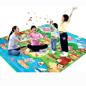 Crawling Baby Play Mat With Activity Center