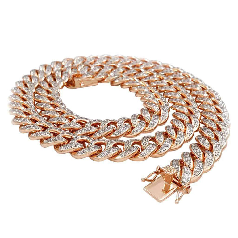 Cuban Link Chain rose gold