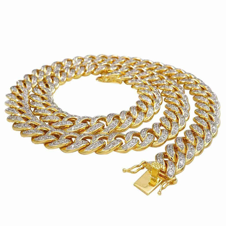 Cuban Diamond Chain Necklace