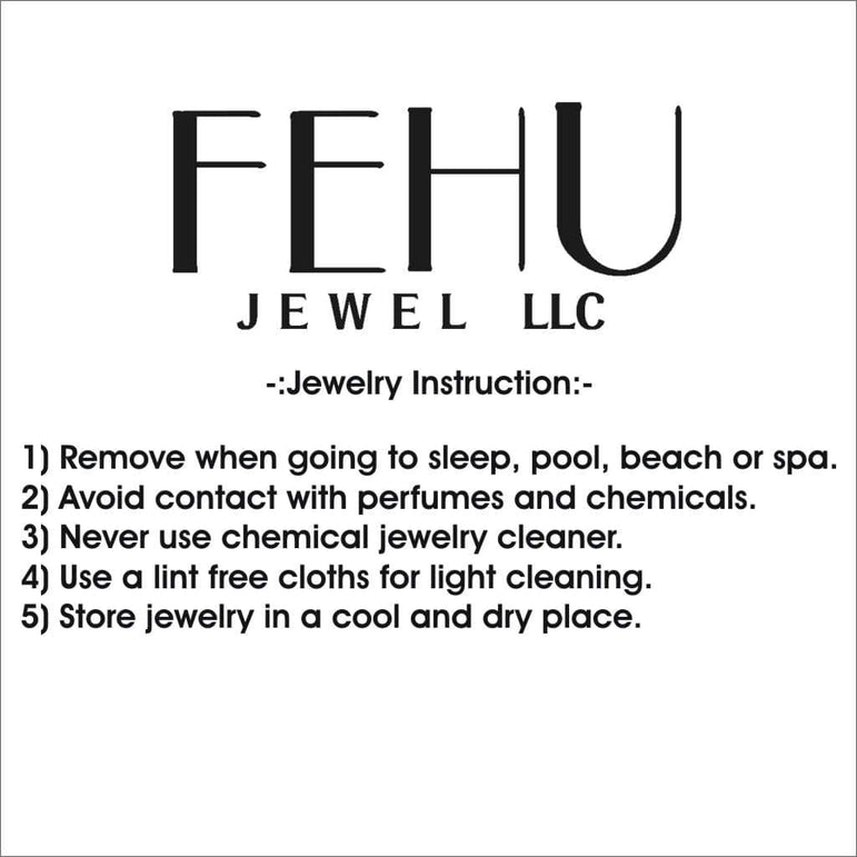 Headphone Necklace Pendant 14k Gold 1.34ct Diamond by Fehu Jewel