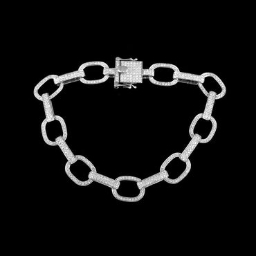Chain Bracelet white gold