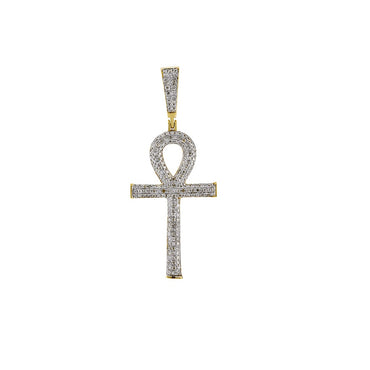 0.75 Ctw Egyptian Cross Pendant by FEHU