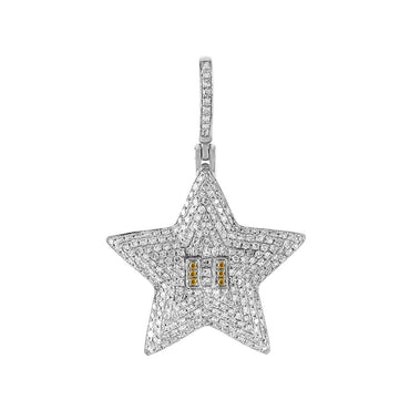 Starfish Pendant white gold