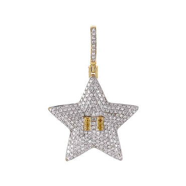 Starfish Pendant yellow gold