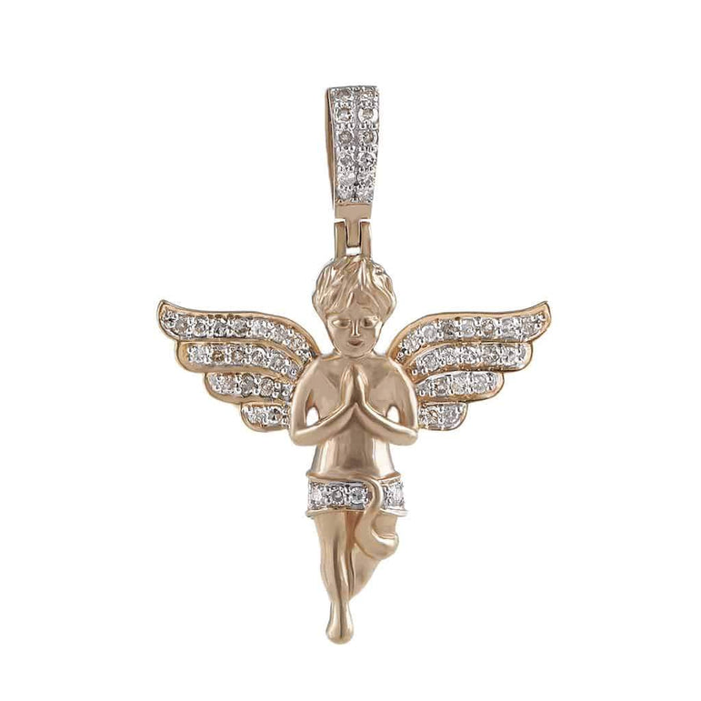 Baby Angel Pendant rose gold