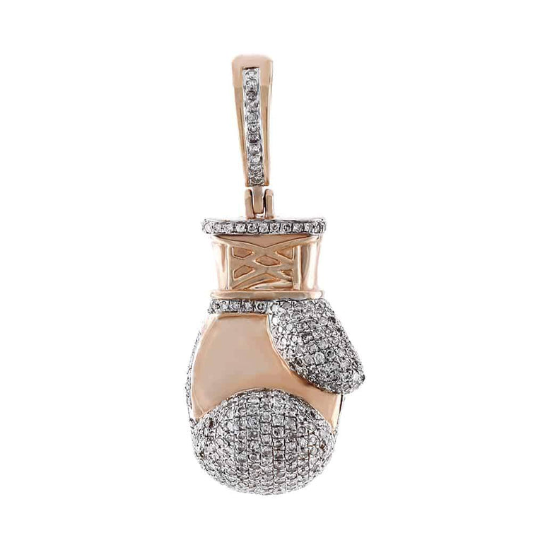 Boxing Glove Pendant rose gold