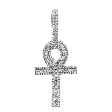 Egyptian Cross Pendant white gold