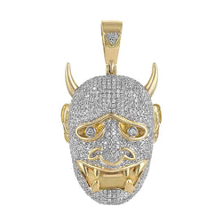 yellow Gold Devil Necklace