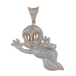 Tweety Bird Pendant rose gold