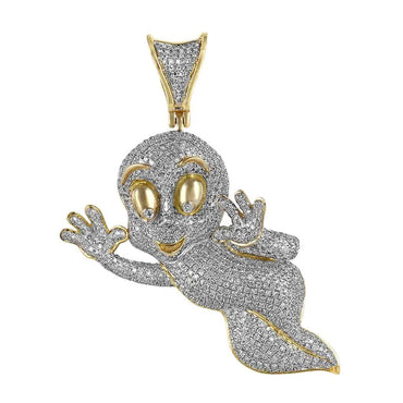 Tweety Bird Pendant yellow gold