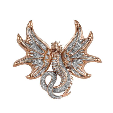 Flying Dragon Pendant rose gold