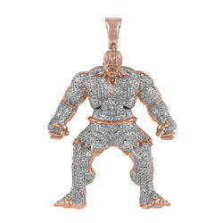 Hulk Diamond Pendant rose gold