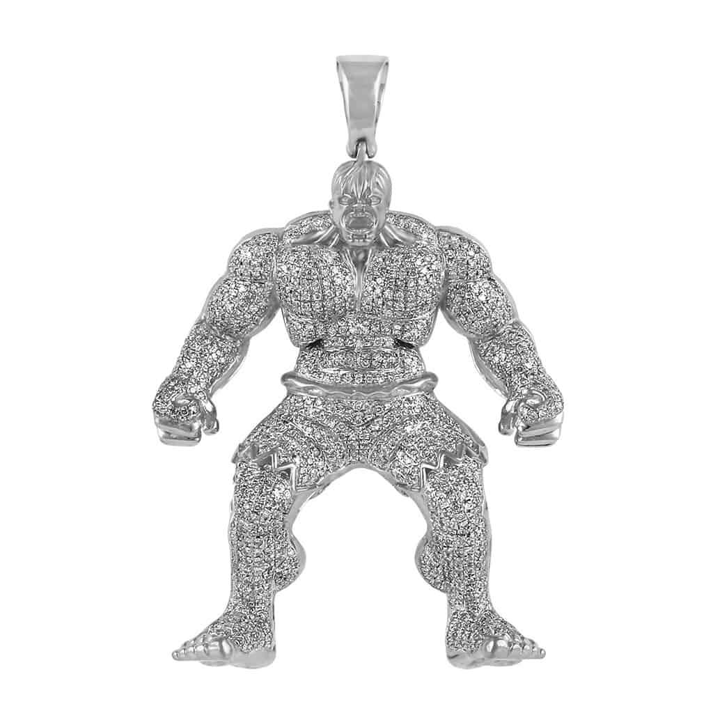 Hulk Diamond Pendant white gold