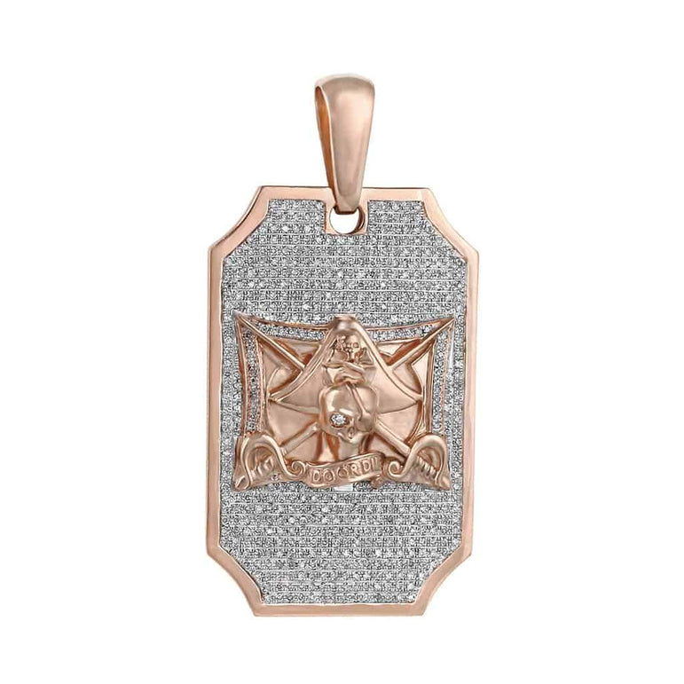 Door Die Pirate Pendant rose gold