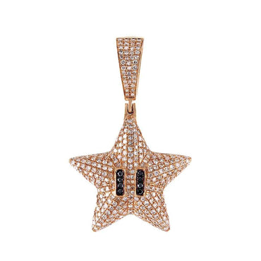Starfish Necklace Pendant rose gold