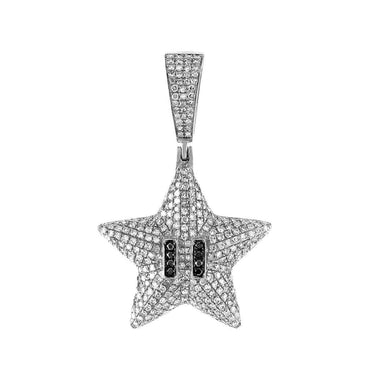 Starfish Necklace Pendant white gold