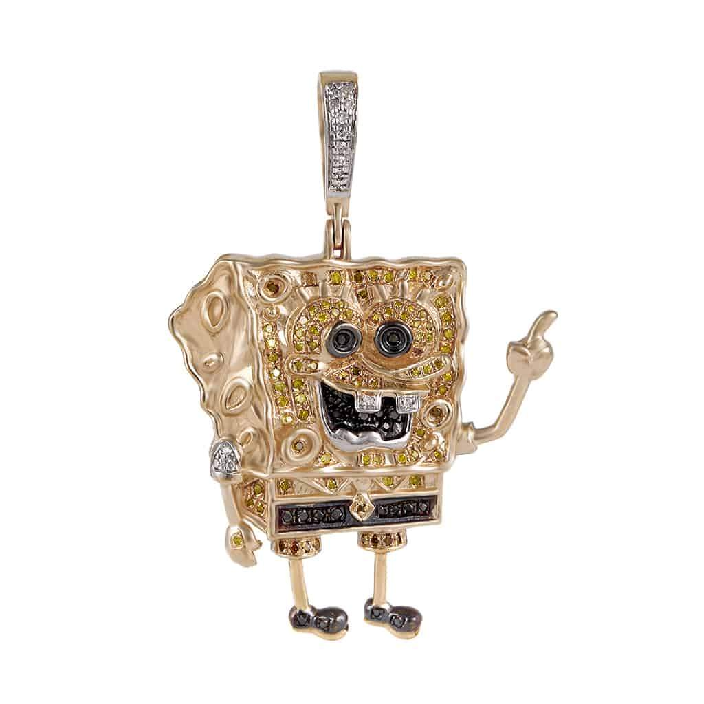 Spongebob Pendant rose gold