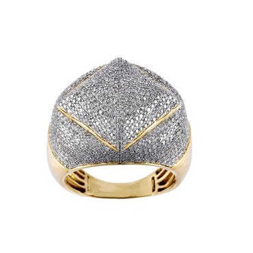1.94 Cts. Round Diamond Men's Ring By Fehu Jewel