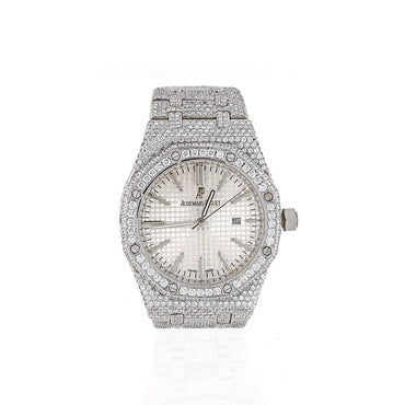 Audemars Piguet Royal Oak Selfwinding  Iced Out Watch