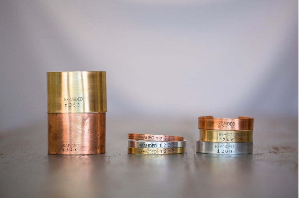 BRANDED CUFFS - SMALL